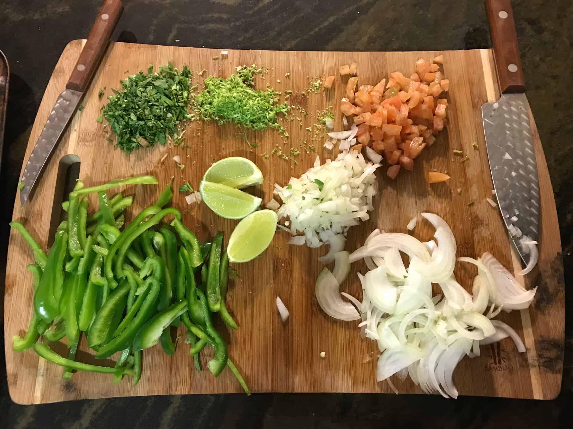 Home Chef Strip Steak Tacos