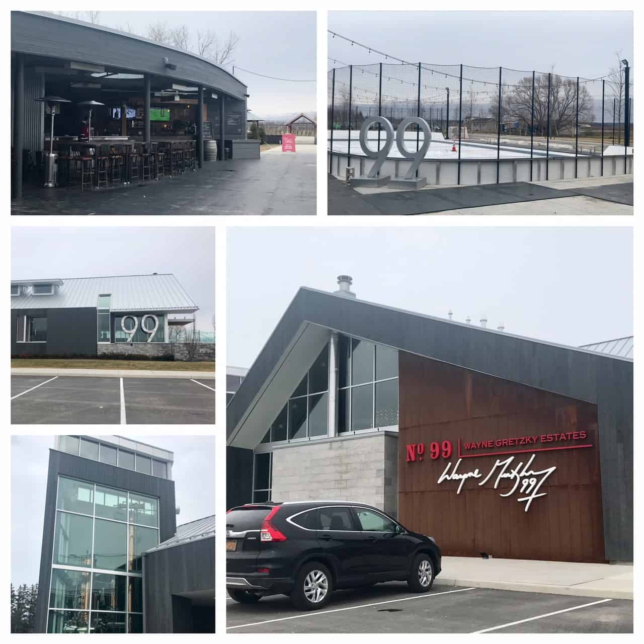 Collage of images from Wayne Gretzky Estates