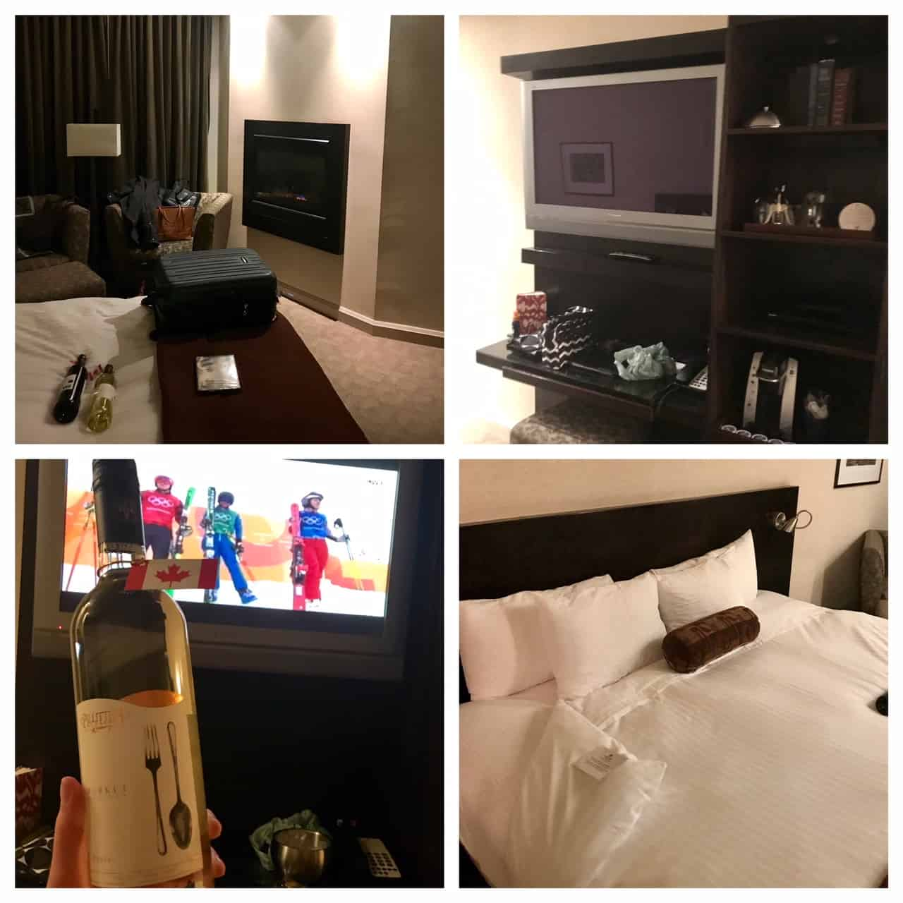 Collage of images from Shaw Club Hotel