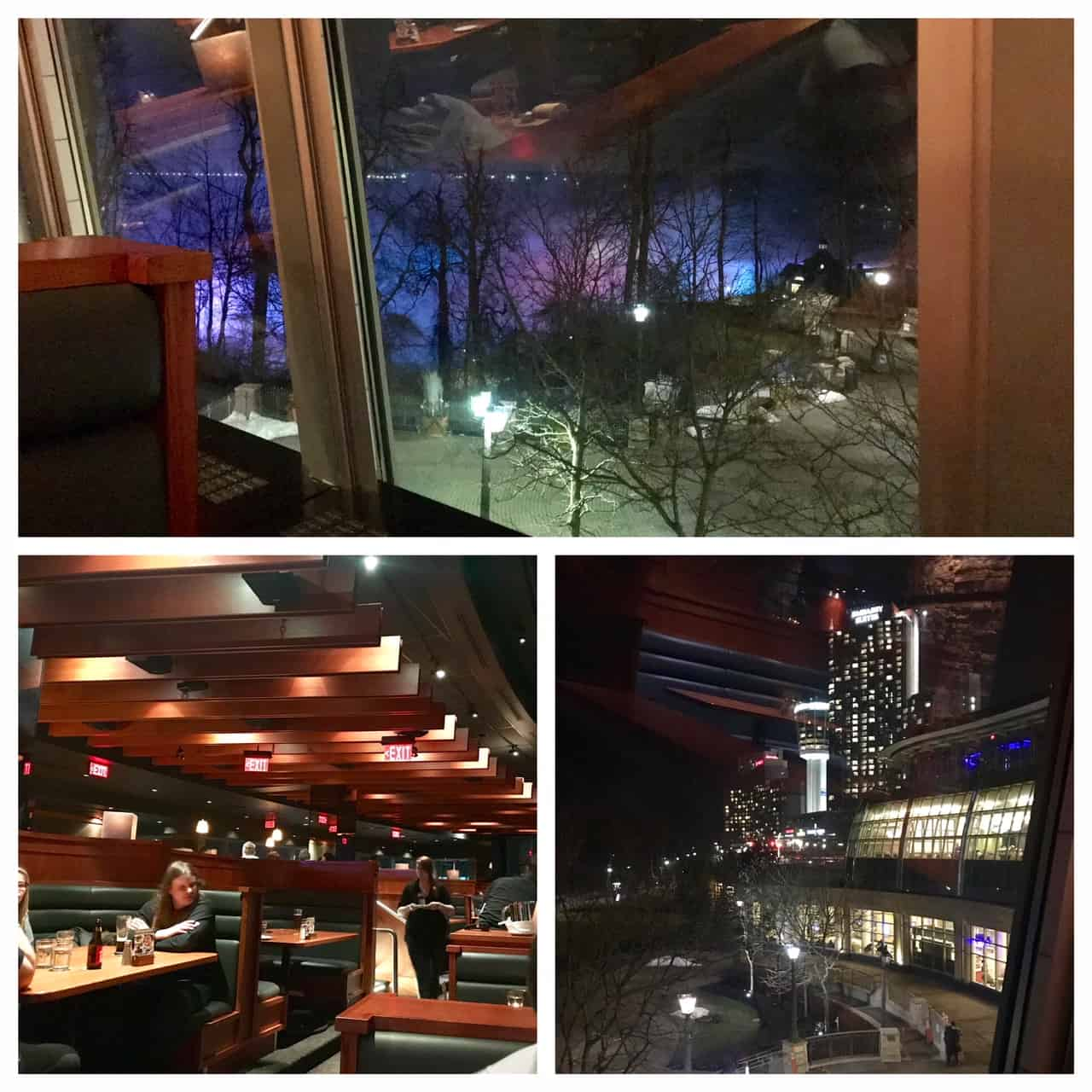Collage of Canyon Creek Restaurant views
