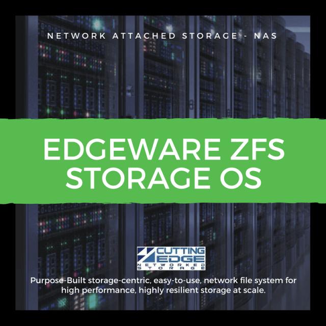 edgewise storage OS ZFS
