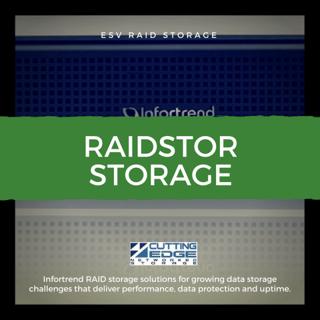 RAIDStor infortrend storage