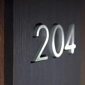 Πινακίδα αριθμού για πόρτες ξενοδοχείων