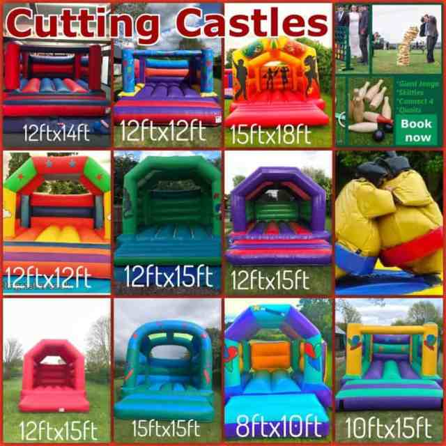 cutting castles