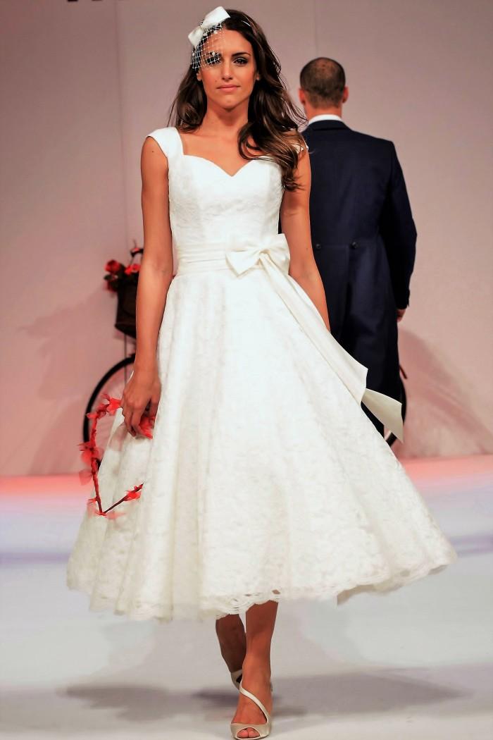 Plus Size Tea Length Wedding Dresses 5