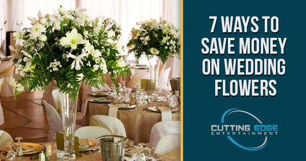 flower saving tips from a san antonio wedding dj