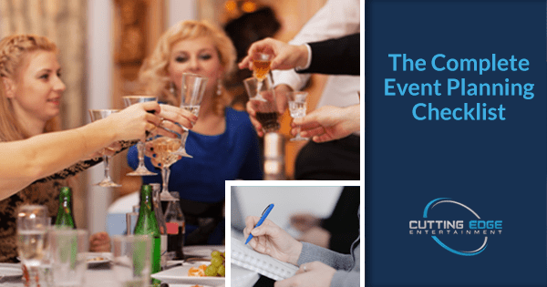The Complete Corporate Event Planning Checklist