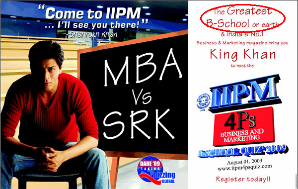 IIPM Hilarious Claim