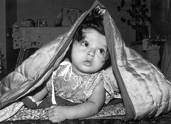Rahul Dravid when he was just six months old