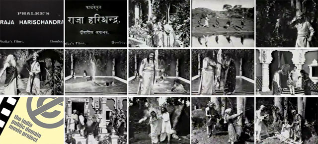 Raja Harishchandra (1913) on India Public Domain Movie Project (and in 3D)