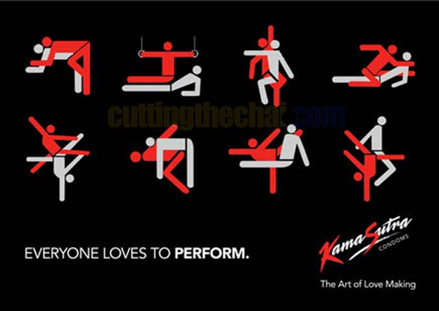 Everyone loves to perform. KamaSutra Condoms The art of love making