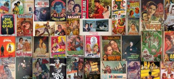 100 years of Indian cinema: The big Bollywood poster collage