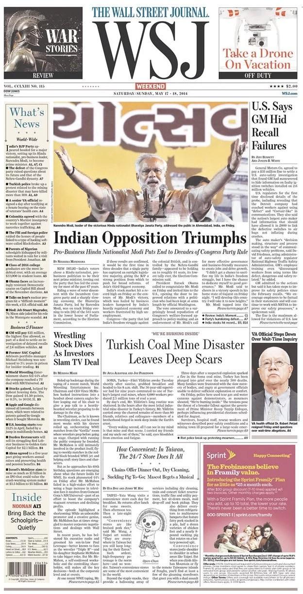 Wall Street Journal, New York, USA