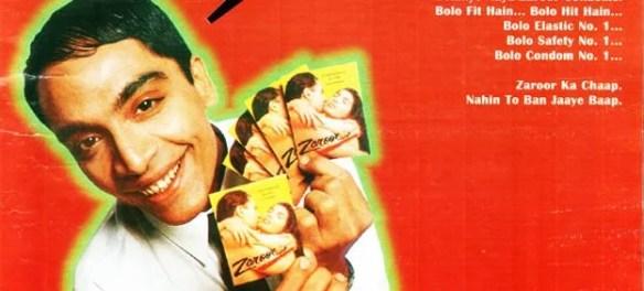 Zaroor Condoms ads from 1999