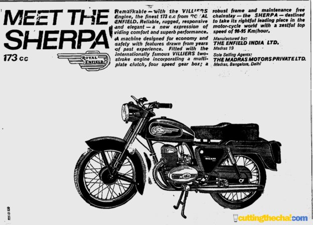 Royal Enfield Sherpa - 1965
