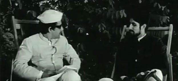 Watch: Amitabh Bachchan's first ever scene on the silver screen