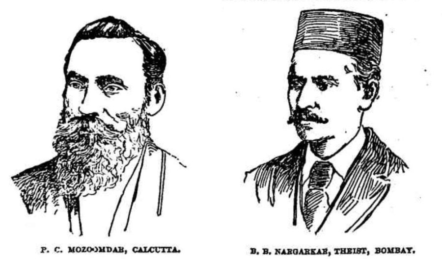 PC Mazoomdar and BB Nagarkar