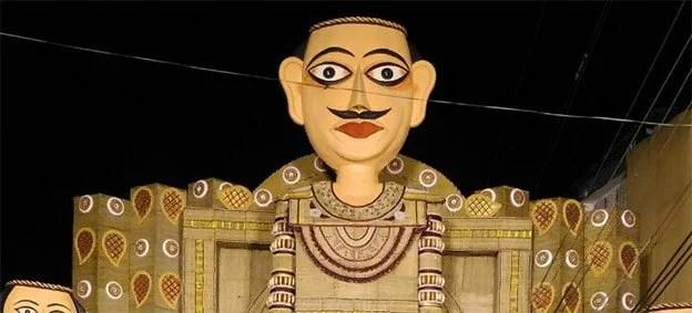 Umpling Durga Puja pandal
