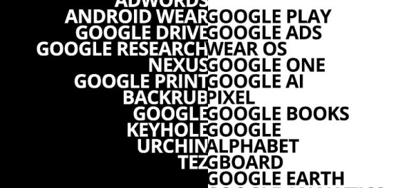 Google's Renamed Products