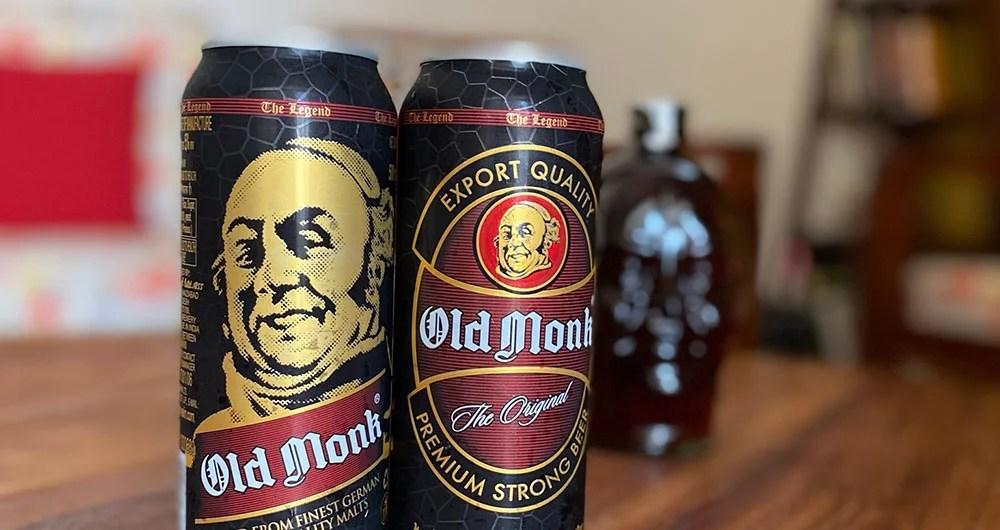 Old Monk beer