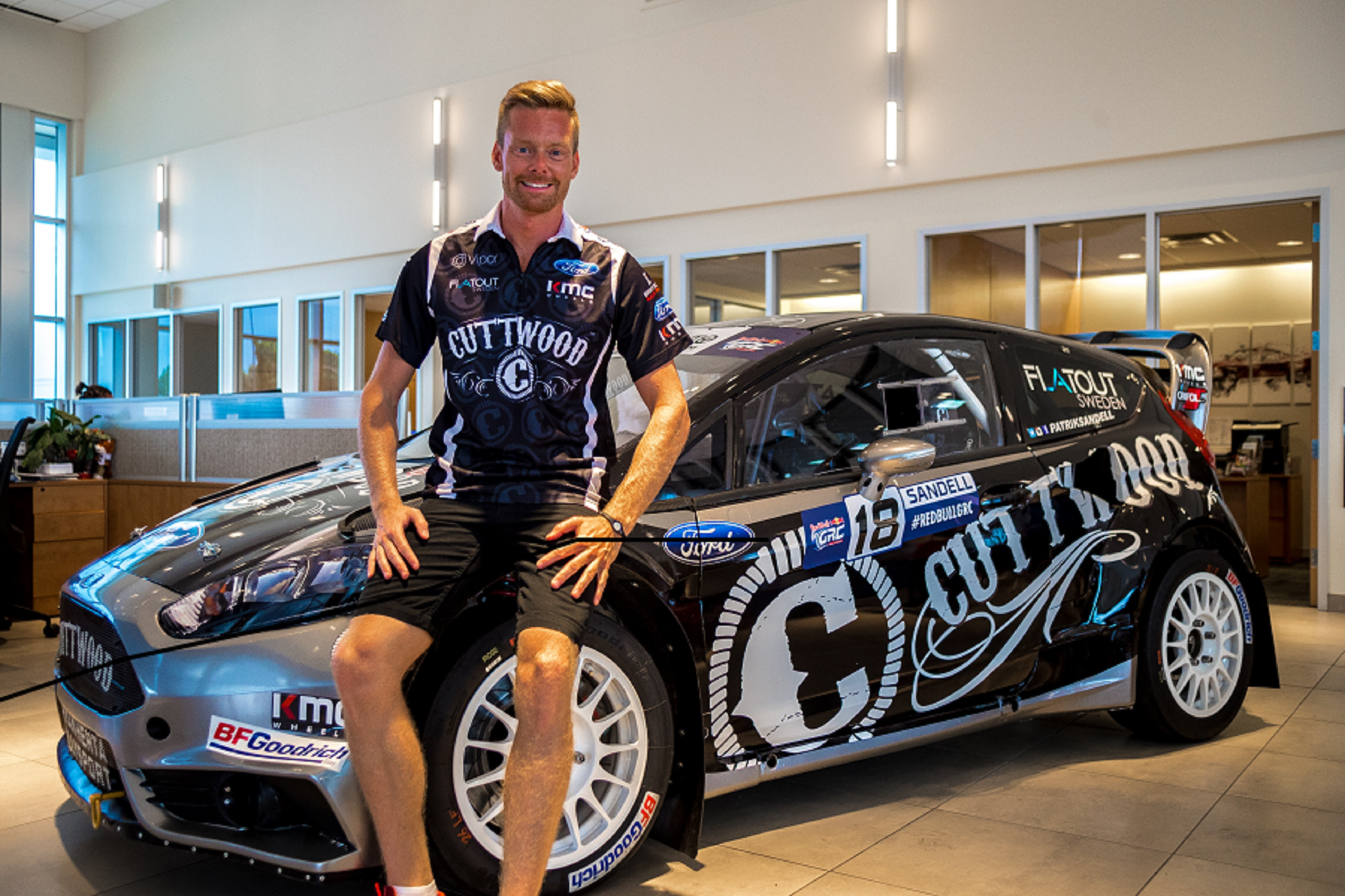 Cuttwood Becomes Primary Sponsor for the No. 18 Red Bull GRC Car / Washington DC Race Preview