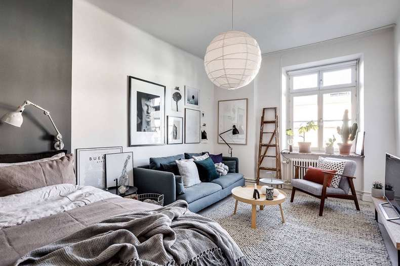 Decorate small apartments