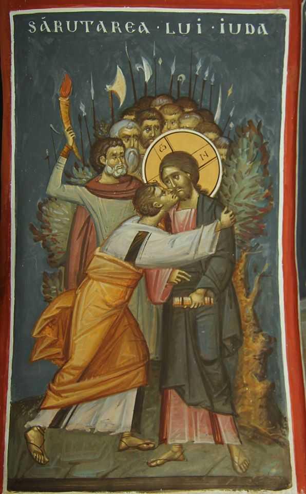 Imagini pentru icoana sarutul lui iuda