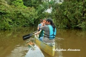 Cuyabeno, River, Paddling, Tour