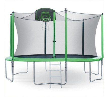 Merax Certificated Trampoline with Safety Enclosure Net