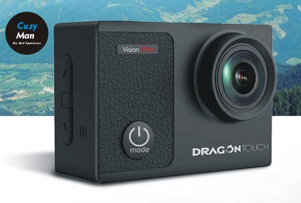 Dragon Touch 4K wifi action camera under 50 dollars