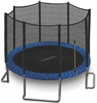 SereneLife Trampoline with Net Enclosure – ASTM Approved