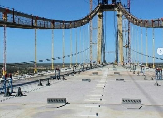 Africa's Longest Suspension Bridge Opens in Mozambique.