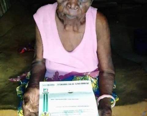 Bayelsa State Appoints 118 Year Old Woman As Special Adviser.
