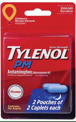 Tylenol PM Extra Strength Convenience Valet