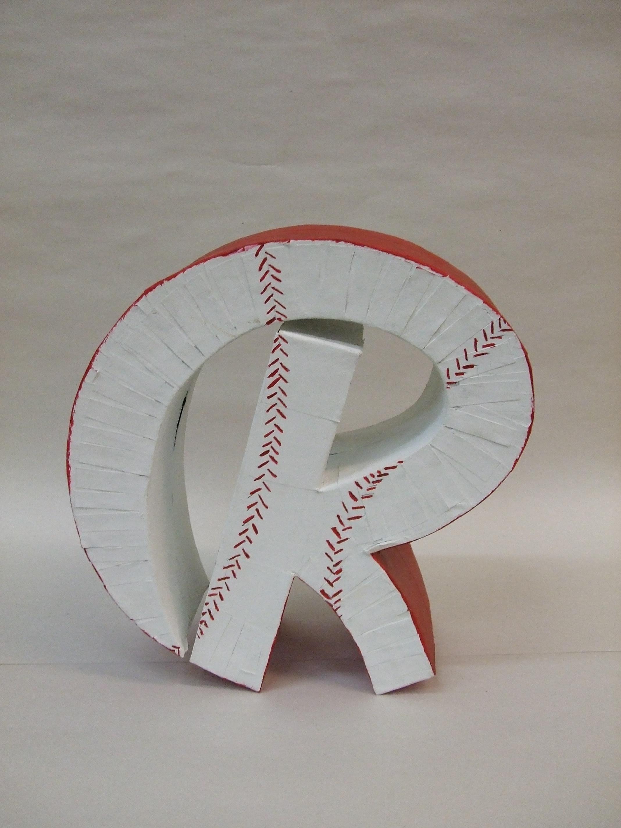 3D logo R