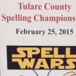 Tulare County Spelling Champions CVC