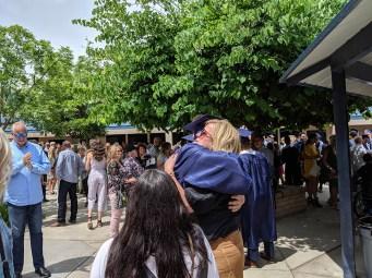 students graduating from CVC