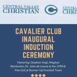 Cavalier Club Inaugural Induction Ceremony