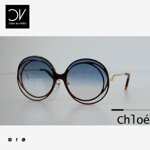 chloe Carlina Halo Sunglasses