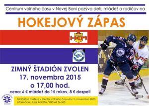 plagát hokej Zvolen