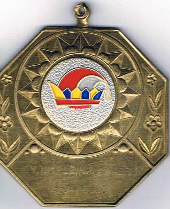 Medaille 15 jaar lid 66-81