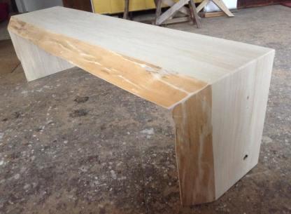 Pappelholz mit originaler Baumkante-2
