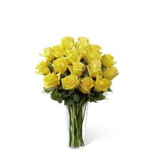 The Yellow Rose Bouquet By Ftd Churchland Village Flower Shop