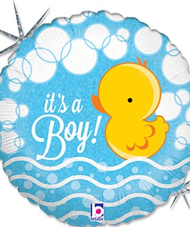 Bubble Ducky Boy Balloon