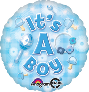 balloon, baby, boy