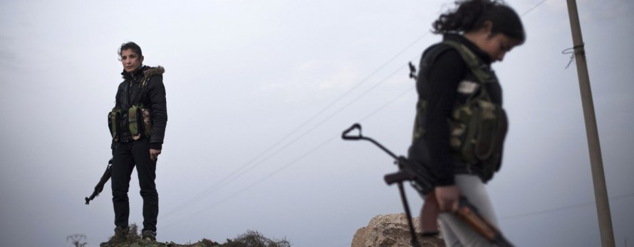 Anarchists vs. ISIS: The Revolution in Syria Nobody's Talking About
