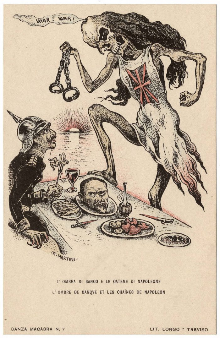 Danza Macabra Europea Disturbing WWI Anti German