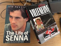 Senna and Villeneuve books