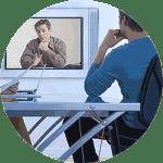 CV Origin timeline video resume