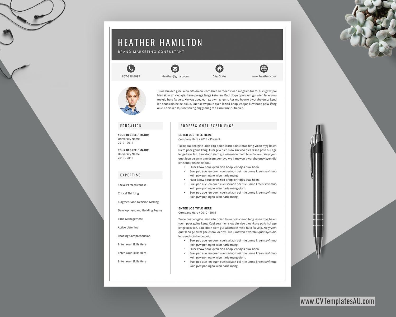 Select either basic resume or. Modern Cv Template For Microsoft Word Cover Letter Professional Curriculum Vitae Editable Resume Modern Resume Simple Resume Teacher Resume Instant Download Cvtemplatesau Com